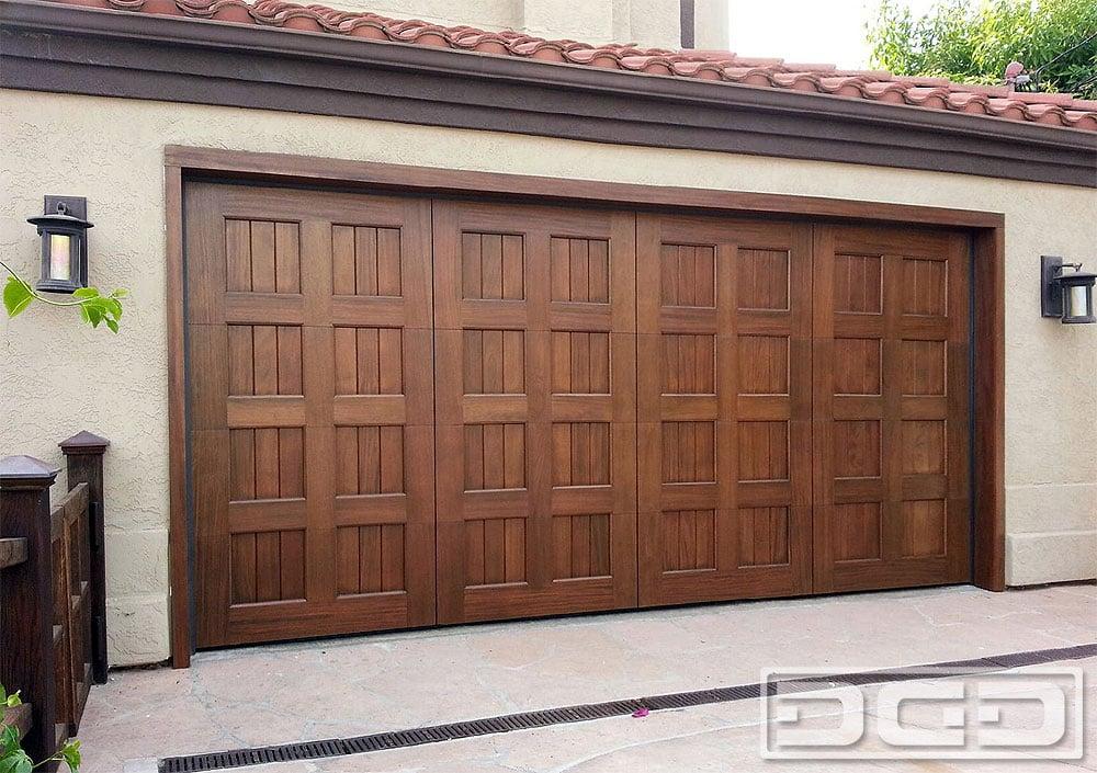 Mediterranean Garage Door Designs In Solid Wood This Door