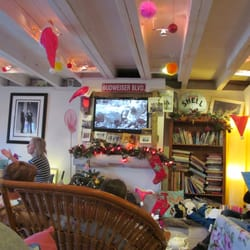 Pinky Murphy's Cafe, Fowey, Cornwall