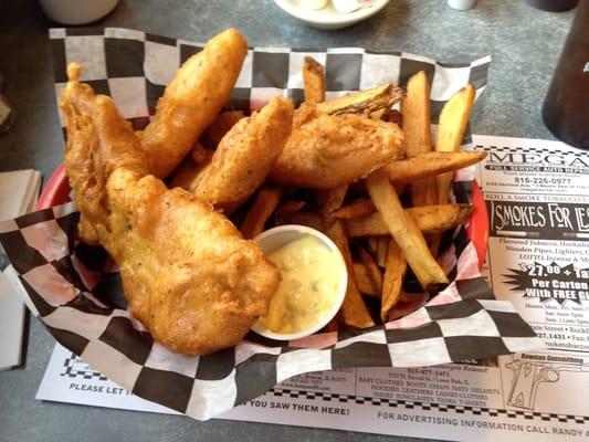 The p s restaurant umgezogen rockford il vereinigte for Fish fry rockford il