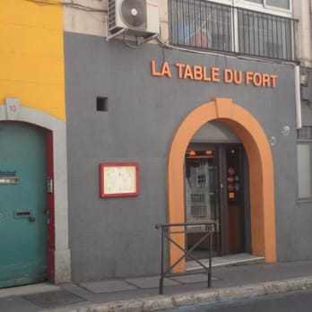 la table du fort restaurant fran ais marseille avis