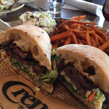 Pacific Catch - Dublin, CA, United States. Vietnamese Steak Sandwich.