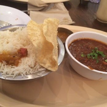 The Chennai Club - Fish curry and rice - San Mateo, CA, United States