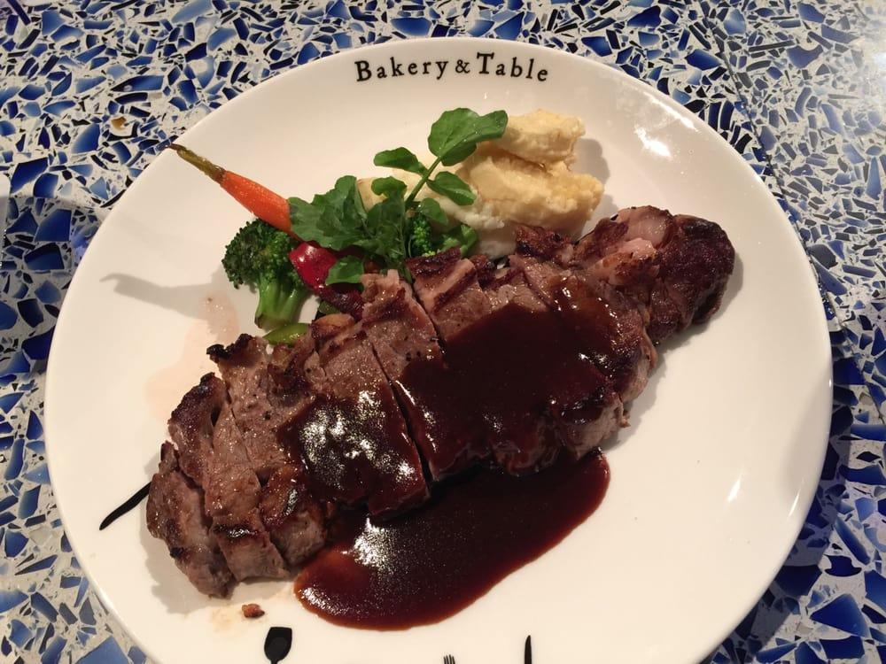 Bakery & Table HonoluluBakery & Table - Honolulu, HI, United States. Rib eye steak