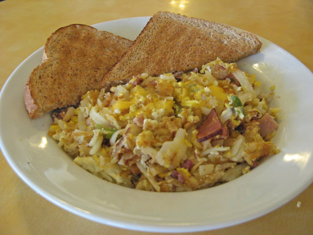 egg scramble with egg and ham scramble creamy scrambled eggs with ham ...