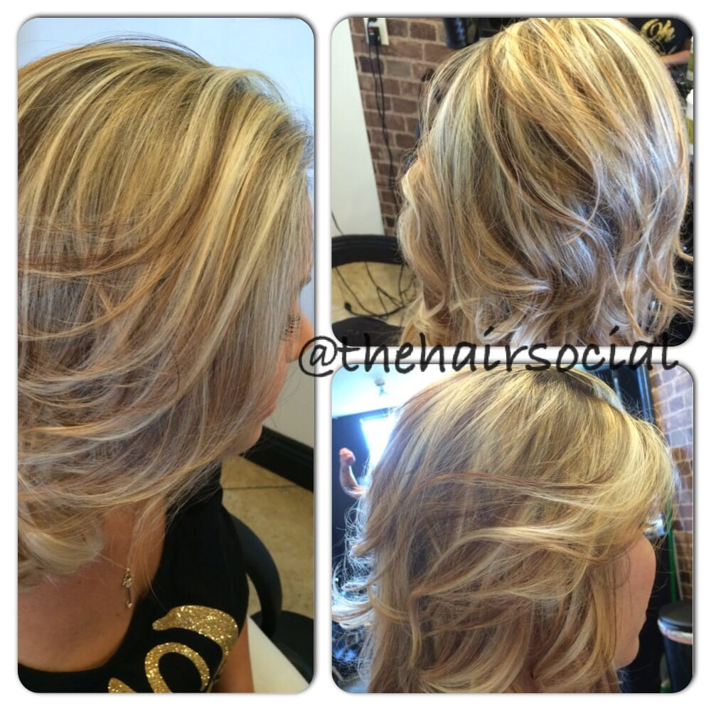 Blonde Highlights And Lowlights For Curly Hair Platinum blonde highlights