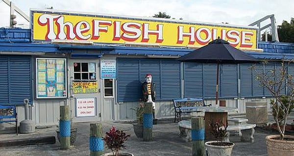 Fish house restaurant seafood market key largo fl for Fish house key largo