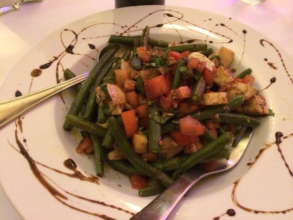 , IL, United States. Green Bean Salad - Green Beans, Tomatoes, Basil ...