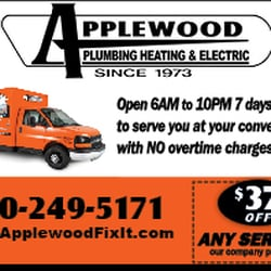 Applewood Plumbing Heating Electric Plumbing