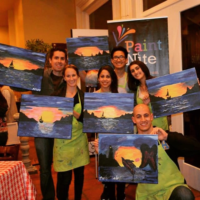 paint nite paint sip fairfax los angeles ca