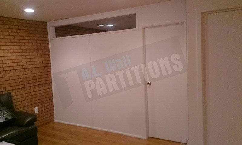 Pressurized Wall Partition Temporary Wall With A 1 39 X8