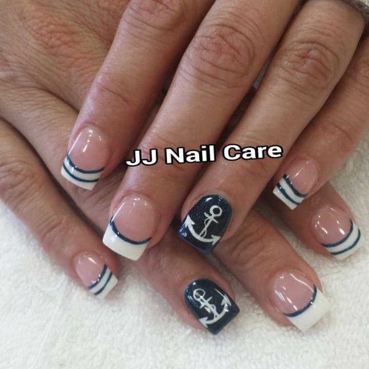 Anchor Nail Design