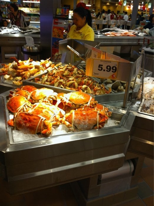 Seafood city supermarket 142 photos grocery tukwila for Chinese fish market near me