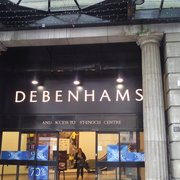 Debenhams, Glasgow, UK