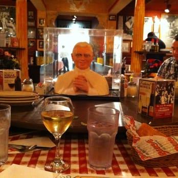 Buca di beppo italian restaurant south lake union seattle wa yelp - Buca di beppo pope table ...