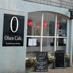 Cafe Olsen, Totnes, Devon