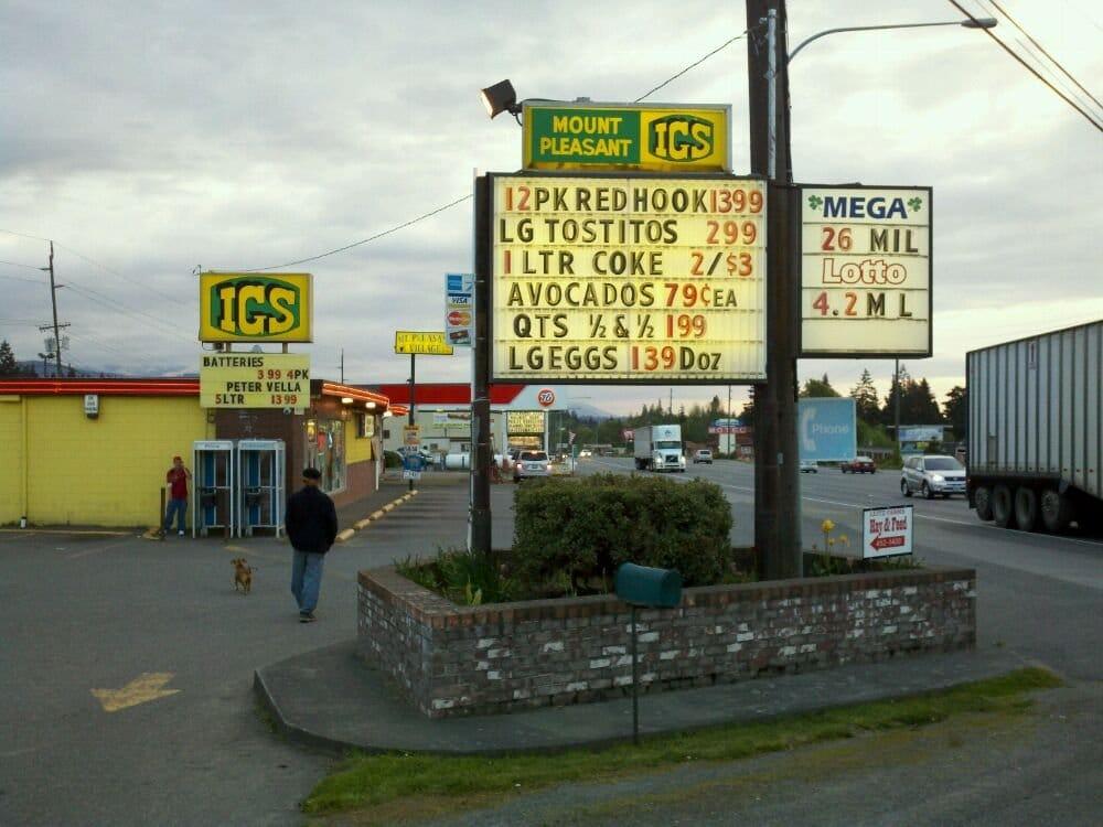 Texaco Near Me >> Mt Pleasant Igs & Texaco - Grocery - Port Angeles, WA - Yelp