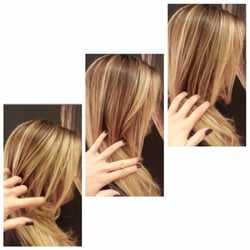 Joseph cozza salon color highlights by lisa curly hair for 77 maiden lane salon