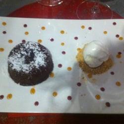 La Cuisine des Sentiments - Perpignan, Pyrénées-Orientales, France. Le coulant au chocolat