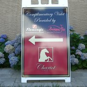 Chariot Valet - Eagleville, PA, États-Unis. Chariot Marquee Susanna Foo & Flemings Steakhouse