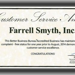 Farrell smyth inc property management san luis for Smythe inc