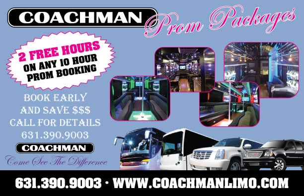 Coachman Luxury Transport Prom Packages
