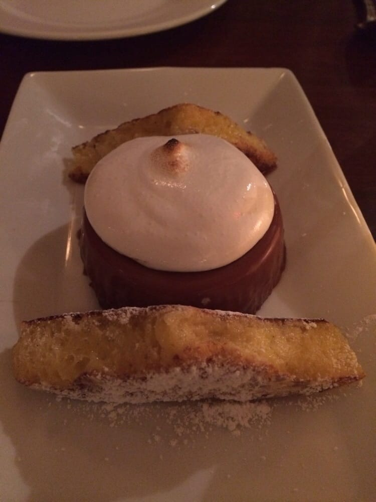 The Twisted Oak - Chocolate hazelnut panna cotta - Tarrytown, NY ...