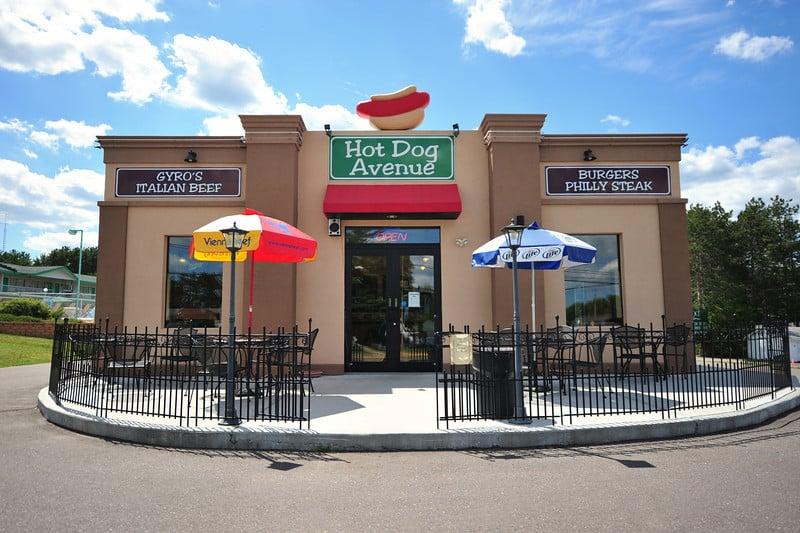 Hot Dog Avenue Wisconsin Dells Wi