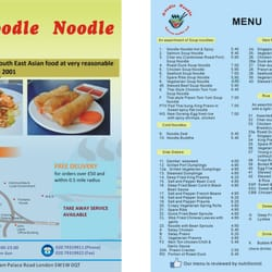 Noodle Noodle, London