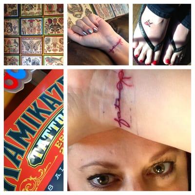 Kamikaze tattoo studio south wedge rochester ny usa for Tattoo rochester ny