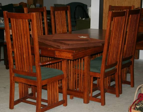 Amish Made Michaels Furniture Company Large Heavy Quality Mission Style Solid