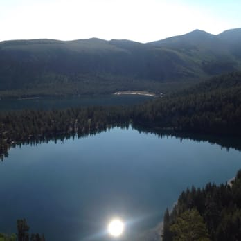 crystal lake hike mammoth lakes ca united states. Black Bedroom Furniture Sets. Home Design Ideas
