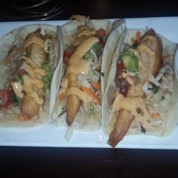 Persimmon restaurant american new chevy chase md for Fish taco bethesda md