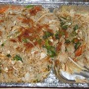 Lecker Khao Phad mit Schweinefleisch zum…