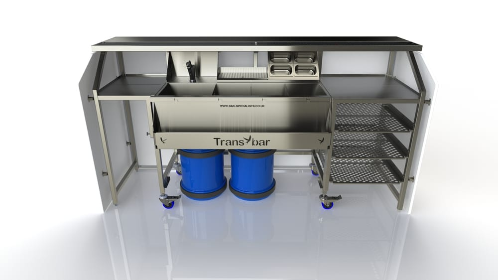 Mobile bar for sale hire design