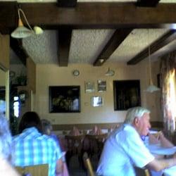 Restaurant Lindenhof innen.