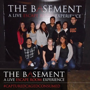 The Basement A Live Escape Room Experience Challenge
