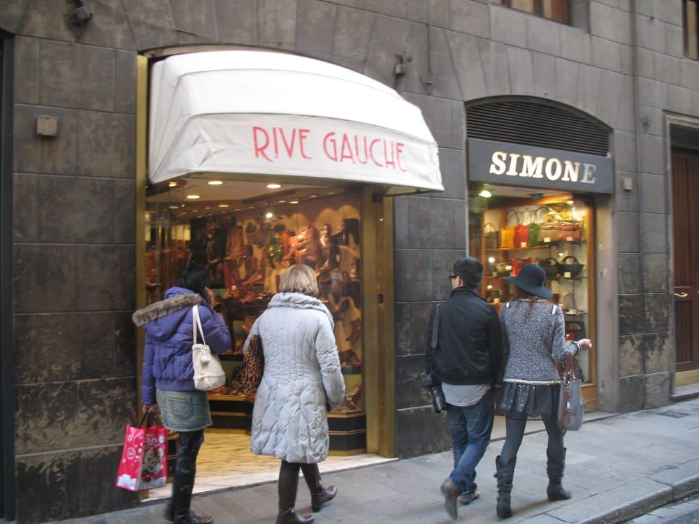 rive gauche magasin de chaussures palazzo pitti florence firenze italie avis photos