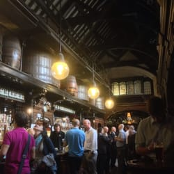 Interior of upper bar. Awesome old(e)…