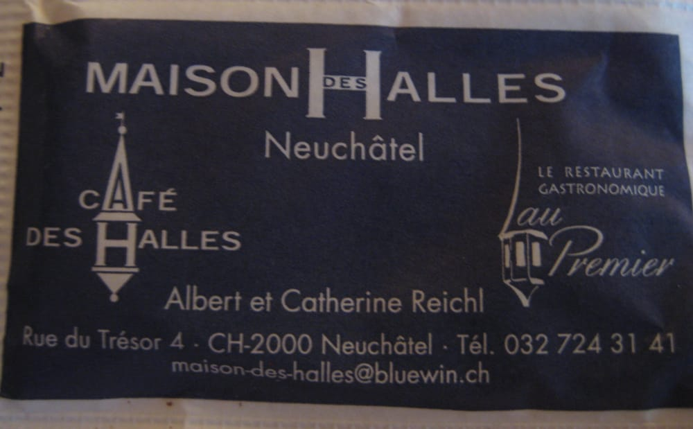 restaurant maison des halles h tel s jour neuch tel suisse avis photos yelp. Black Bedroom Furniture Sets. Home Design Ideas