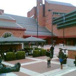 Forecourt of the British Library,St Pancras
