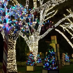 Christmas Town At Busch Gardens Tampa Fl United States