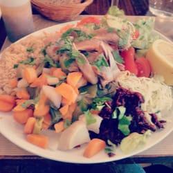Salade Alizé avec filets de hareng:…