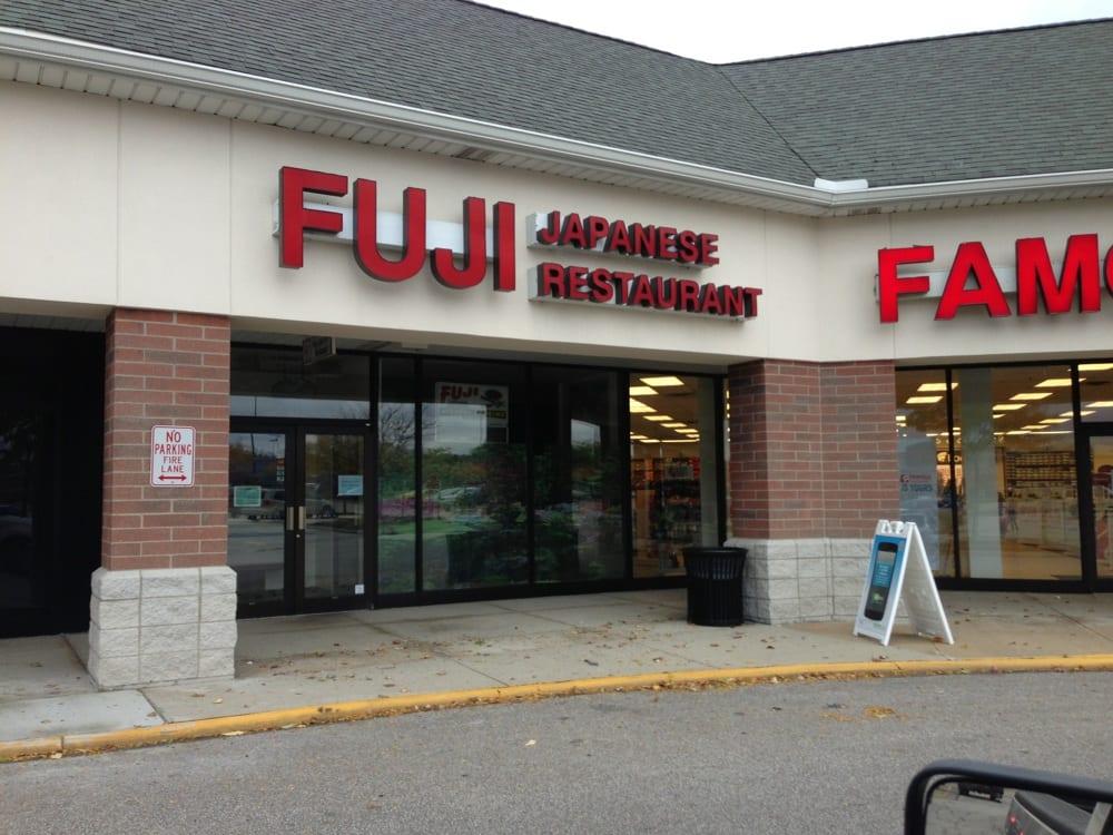 Fuji Japanese Restaurant Menu Macedonia Oh