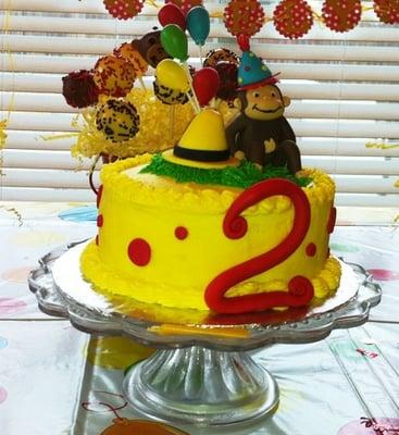 Curious George Birthday Cake Yelp