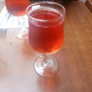 Kir with cider