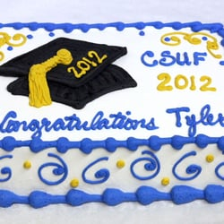 Patty's Cakes and Desserts - Fullerton, CA, United States. Graduation Cake
