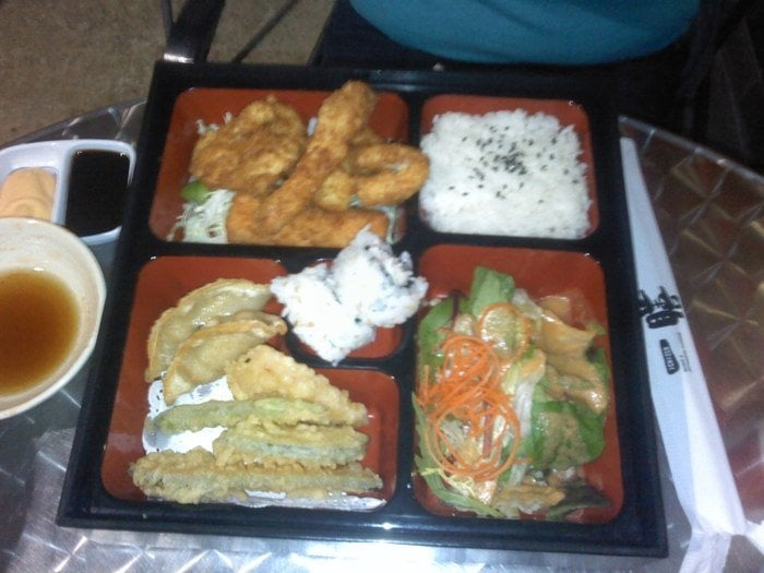 Fried seafood bento yelp for Asian 168 cuisine