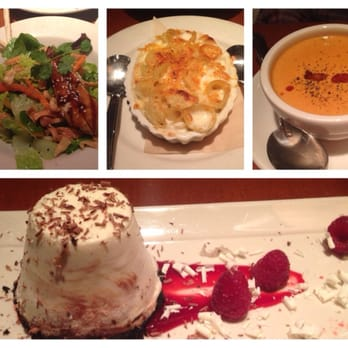 Nordstrom Grill - Ginger sesame chicken salad, crab bisque, Mac and ...
