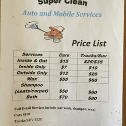 Super Clean Auto Detailing Amp Mobile Services 21 Photos