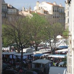 Marché de la Plaine - Marseille, France. Marché de la Plaine 2